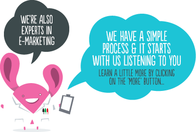 We're also experts in e-marketing